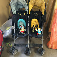 COSATTO TWIN STROLLER FOR SALE