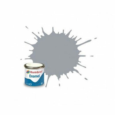 Pintura Enamel Medium Sea Grey satinado Humbrol AA1794 14ml