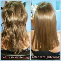KENRA SMOOTHING TREATMENT AND JAPANESE HAIR STRAIGHTENING SPE