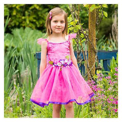 'Blumen Fee' Kirschrot Rosa Kostüm Fee Kostüm Buchwoche - 1/2 Jahre