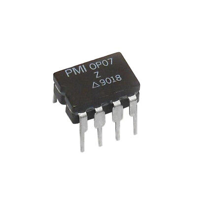 3pc Op07z Op07 Ultra-low Offset Voltage Operational Amplifier Pmi Ceramic 8-pin