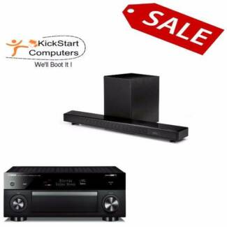 Yamaha Receiver AND Soundbar SALE with Full Warranty