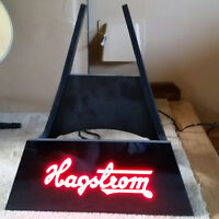 rare Hagstrom lighted guitar stand