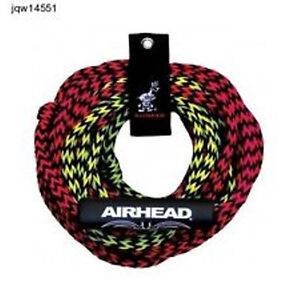 AIRHEAD-2-Rider-Tube-Rope-2-Section-Floating-60-AHTR-22-NEW-SportsStuff