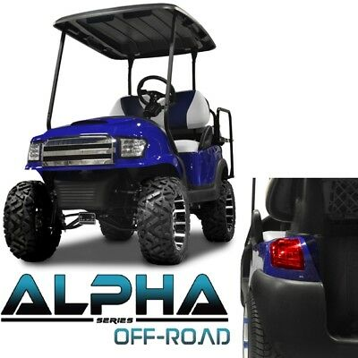 Club Car Precedent ALPHA Off-Road Body Kit in Blue (Fits 2004-Up) (Blemished)