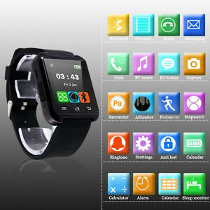U8 Smart Watch for iPhone Samsung Sony HTC iOS Android Bluetooth