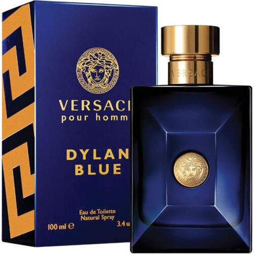 Versace Dylan Blue Perfume For Men By Gianni Versace EDT Spray 100 ml 3.4 Oz NIB