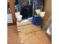 Free vintage mirror with lights