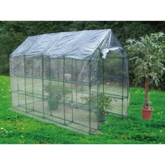 Aestivo 2.9m Walk-In 3-Tier Greenhouse w PVC Cover Camden South Camden Area Preview