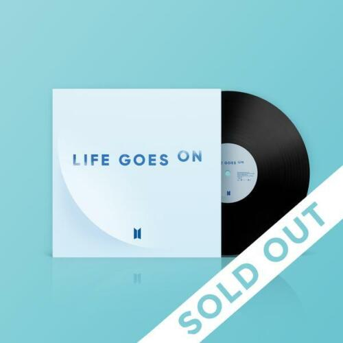"""BTS Life Goes On - Limited Edition 7"""" Vinyl Record - FAST SAME DAY SHIPPING"""