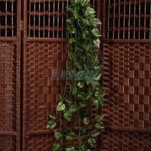 Artificial Hanging Ivy Vine Plant Silk Leaf Garland Home Garden Wedding Decor 32