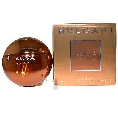 Aqva Amara by Bvlgari for Men  Eau de Toilette 3.4 oz 100 ml spray