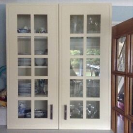 Kitchen unit / display cupboard / as new