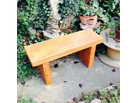 Troggy Solid Garden Bench