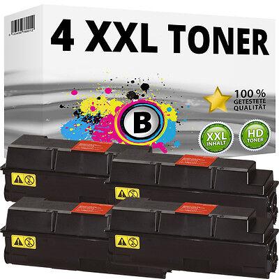 4x XXL TONER für Kyocera Mita FS-3900DN FS-4000DN Black Toner-Kassette TK320