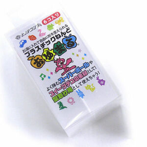 New-Oyumaru-Clay-6-stick-set-Reusable-Mold-Making-Kit-Clear-Japan