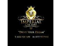 Luxury , prestige & sports car hire