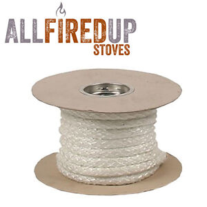 Rope for wood burning stove doors