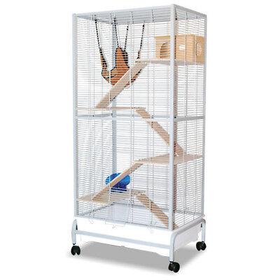 Nagervoliere, Käfig für Nager Malaga II - Platinum für Hamster, Mause und co.