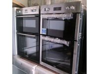 Double Oven electric brand new warranty included sale on-HOBS,cookers,fridge freezer,