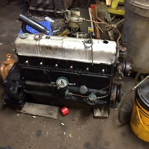 1950 chev truck Engine and transmission both good