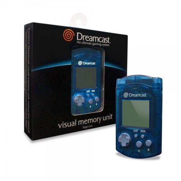 Sega Dreamcast VMU Memory Card Blue for Sega DC Game System
