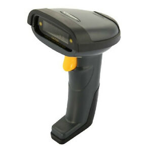 DBPOWER Cordless Laser Barcode Scanner Reader - USB Adapter - Bl