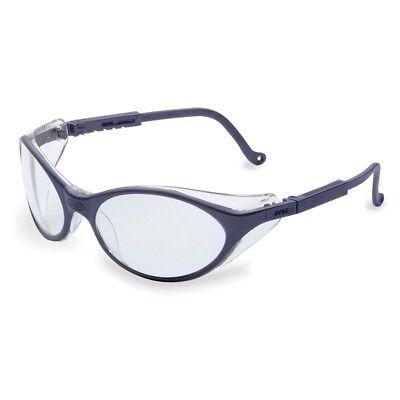 Uvex Bandit Safety Glasses With Clear Lens Blue Frame