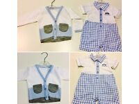 2 x *Brand New* baby clothes cardigan short shirts up to 3 months