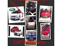 Ride On Cars Audi, Bentley, Bmw, Lamborgini, Ferrari, Range Rover, Mercedes, VW Golf