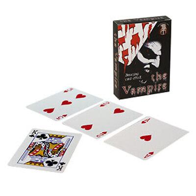 Vampire - Bicycle Close-Up Magic Card Trick Packet - Vampire Themed Magic!