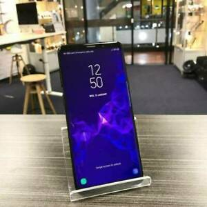 Galaxy S9 Plus 64G Black Great Condition WARRANTY UNLOCKED INVOICE Ashmore Gold Coast City Preview