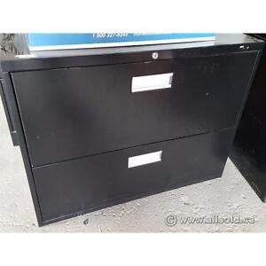 Various Commercial Quality Brand Name 2 Drawer Lateral File Cabinets $150-$225