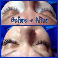 Half price EYELASH EXTENSIONS