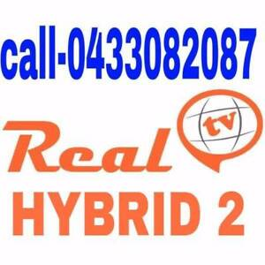 (DIRECT SUPPLIER)REAL TV  HYBRID / MAXX TV 4k RECHARGE OR NEW BOX Melbourne CBD Melbourne City Preview