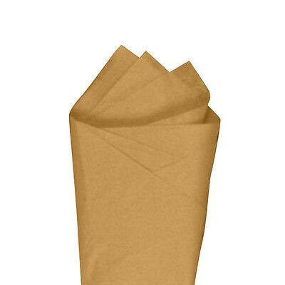 24 Sheets Pack 20 X 30 Harvest Gold Quality Premium Grade Color Tissue Paper