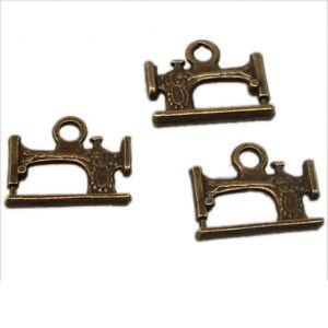 30pcs-141019-Vintage-Bronze-Charms-Sewing-Machine-Pendants-20mm-Free-Shipping