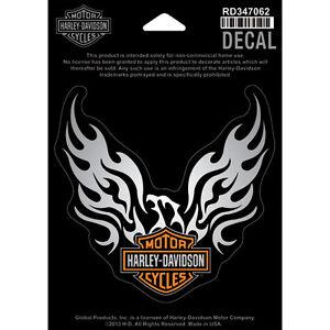 harley davidson aufkleber decal phoenix eagle reflektierend rd347062 ebay. Black Bedroom Furniture Sets. Home Design Ideas