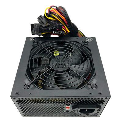 650 Watt 24/20-pin 4/8-pin ATX Computer PC System Power Supply w/SATA PCIe
