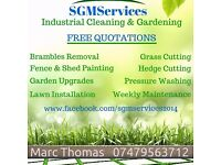 SGMServices - Gardening - Industrial Cleaning