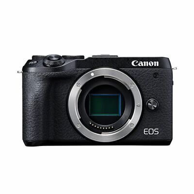 Near Mint! Canon EOS M6 Mark II Body Black - 1 year warranty