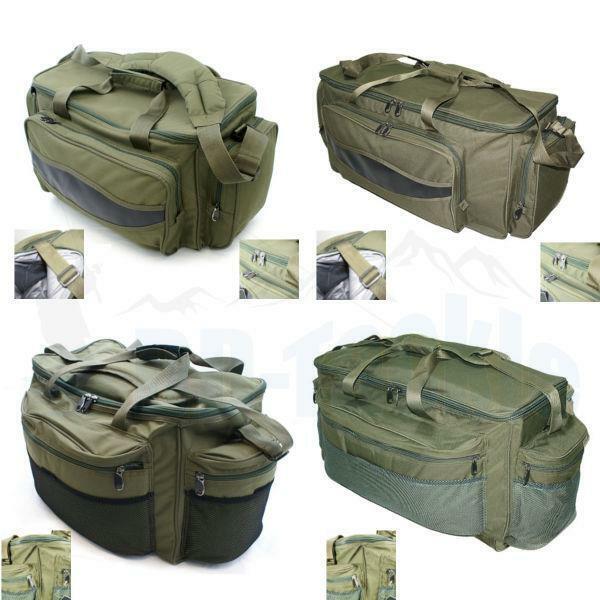 NEU Carryall Tasche isoliert & fester Boden Karpfentasche Tackle Bag Angeltasche