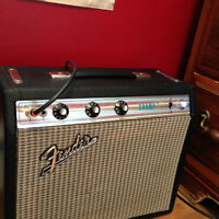 FENDER CHAMP TUBE AMPLIFIER 1973 VINTAGE