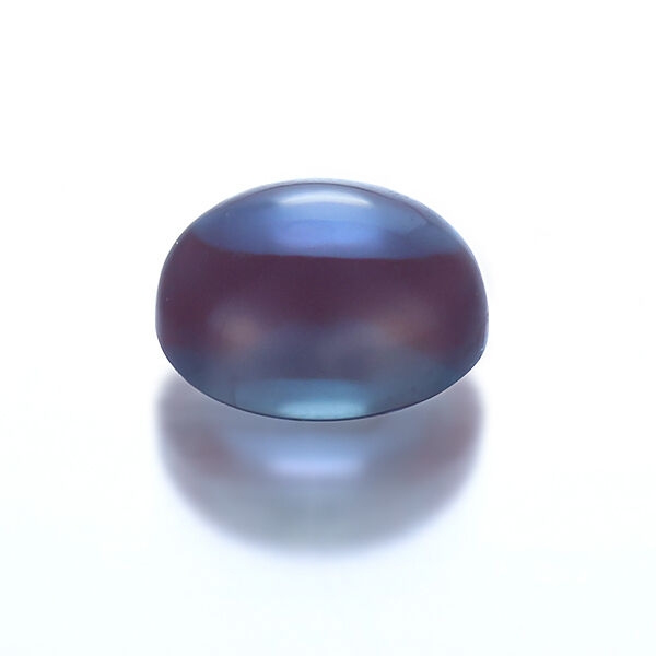 Lab Created Pulled Alexandrite Chrysoberyl Oval Cabochon(6x4-30x20mm)Loose Stone