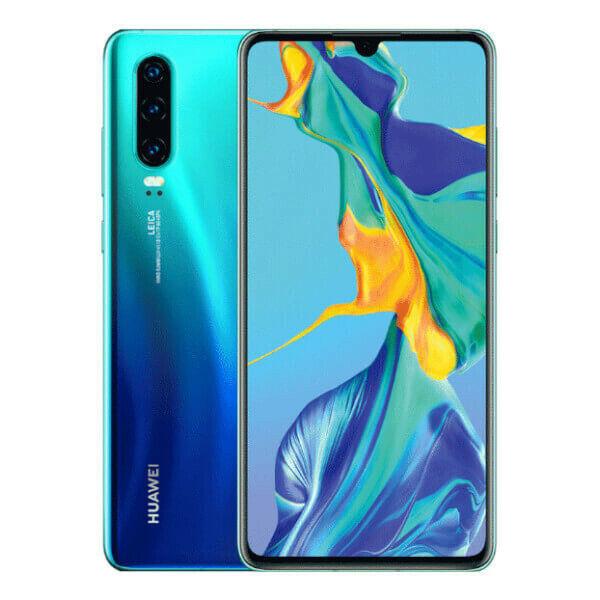HUAWEI P30 128GB+6GB RAM TELÉFONO MÓVIL LIBRE SMARTPHONE COLOR AURORA BLUE 4G