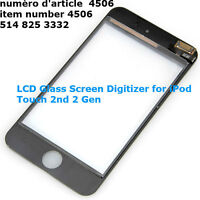 LCD Glass Screen Digitizer for iPod Touch 2nd 2 Gen