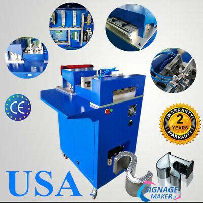 Usa 110v Cnc Notcher Notching Machine For Metal Channel Letter Single Side Notch
