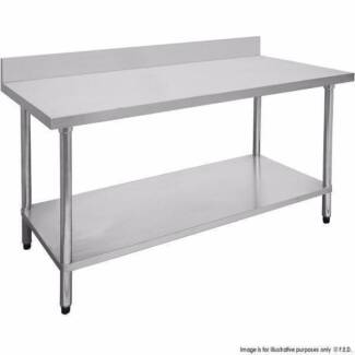 FED Economic 304 Grade Stainless Steel Table 0300-7-WBB