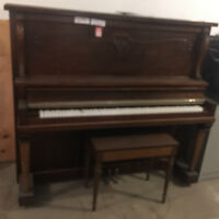 THE WISE SHOP HAS A BEAUTIFUL DUNCAN PHYFE  STYLE PIANO