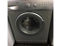 Silver beko washing machine